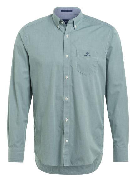 GANT Hemd Regular Fit, Farbe: WEISS/ GRÜN KARIERT (Bild 1)