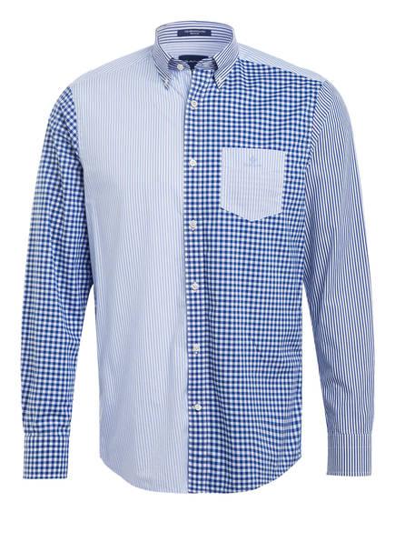 GANT Hemd Regular Fit, Farbe:  WEISS/ DUNKELBLAU/ HELLBLAU (Bild 1)