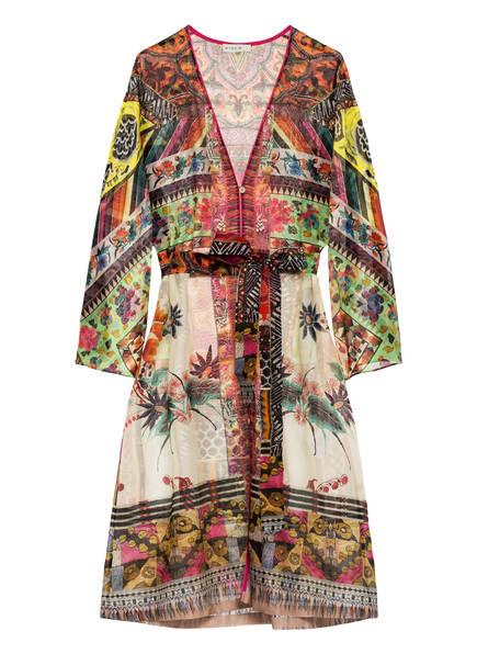 ETRO Strandkleid mit Seide, Farbe: GRÜN/ PINK (Bild 1)