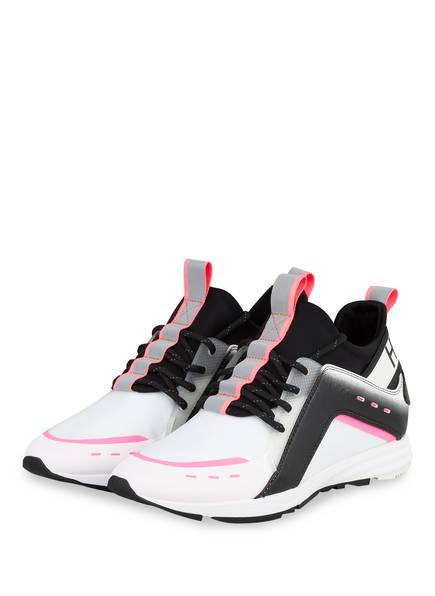 HUGO Sneaker HYBRID RUNN , Farbe: WEISS/ SCHWARZ (Bild 1)