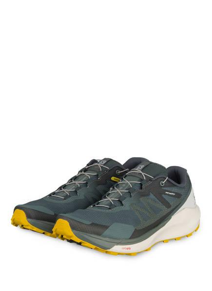 SALOMON Trailrunning-Schuhe SENSE RIDE 3, Farbe: GRÜN (Bild 1)