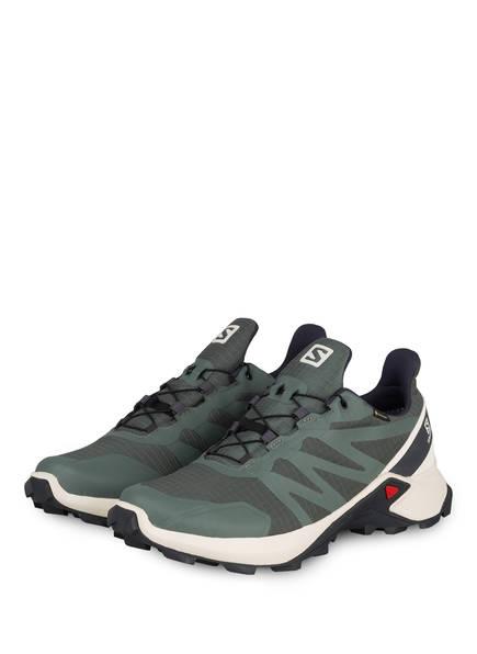 SALOMON Trailrunning-Schuhe SUPERCROSS GTX, Farbe: GRÜN (Bild 1)