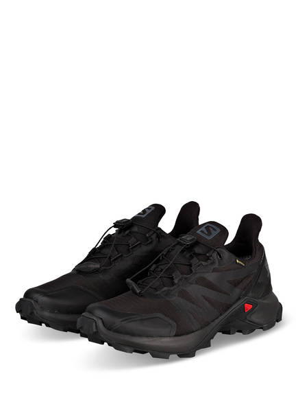 SALOMON Trailrunning-Schuhe SUPERCROSS GTX, Farbe: SCHWARZ (Bild 1)