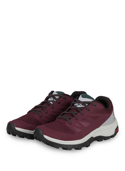 SALOMON Outdoor-Schuhe OUTLINE, Farbe: DUNKELROT (Bild 1)