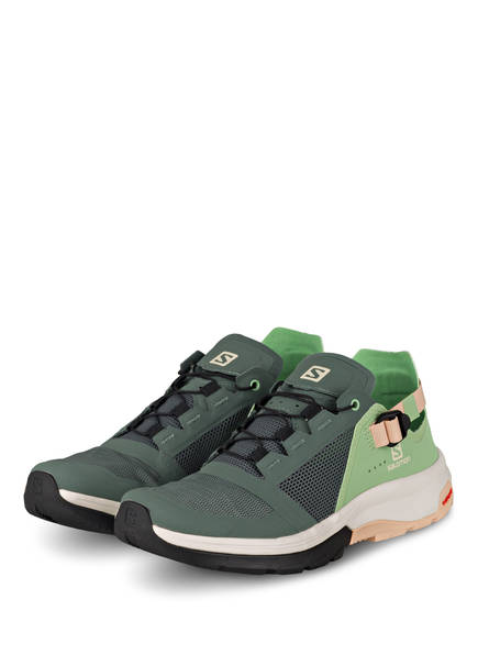SALOMON Outdoor-Schuhe TECHAMPHIBIAN 4, Farbe: HELLGRÜN/ DUNKELGRÜN/ NUDE (Bild 1)