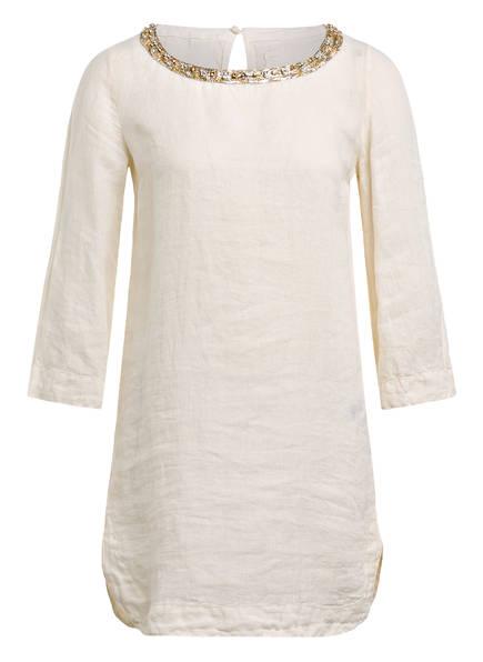 120%lino Blusenshirt aus Leinen, Farbe: CREME (Bild 1)