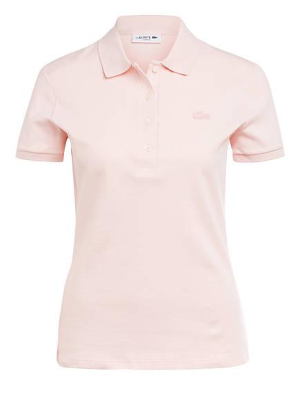 LACOSTE Piqué-Poloshirt Slim Fit, Farbe: ROSE (Bild 1)