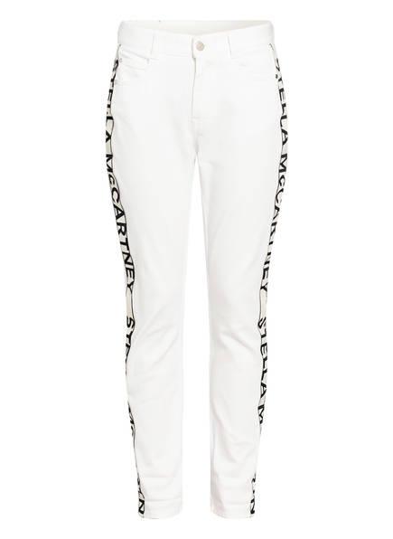 STELLA McCARTNEY Boyfriend Jeans mit Galonstreifen, Farbe: 9110 ORG.WHITE (Bild 1)
