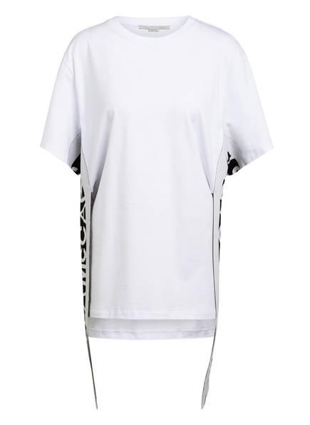 STELLA McCARTNEY T-Shirt mit Galonstreifen, Farbe: WEISS (Bild 1)