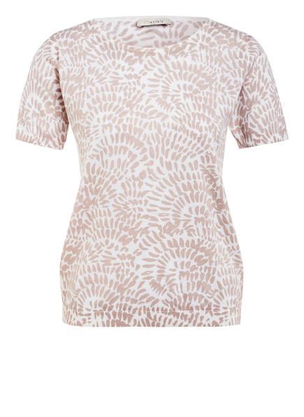 lilienfels Strickshirt, Farbe: WEISS/ BEIGE (Bild 1)