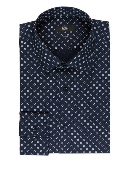BOSS Hemd JANGO Slim Fit, Farbe: DUNKELBLAU/ WEISS (Bild 1)