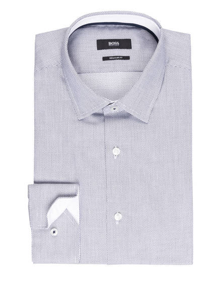 BOSS Hemd GORAN Regular Fit, Farbe: WEISS/ SCHWARZ (Bild 1)