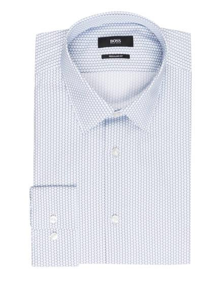 BOSS Hemd ELIOTT Regular Fit, Farbe: WEISS/ HELLBLAU/ GRÜN (Bild 1)