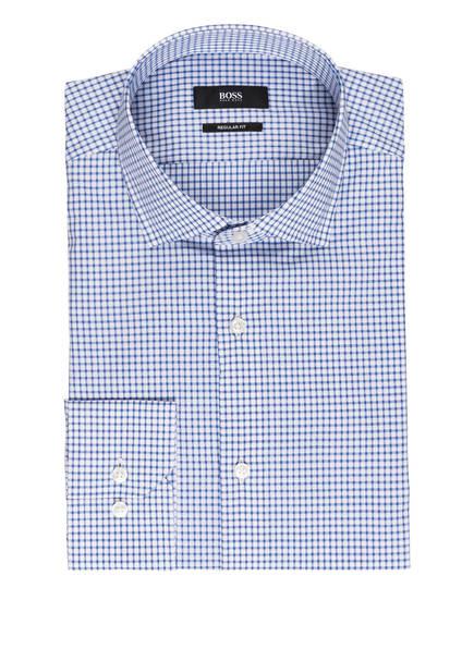 BOSS Hemd GORDON Regular Fit, Farbe: WEISS/ BLAU KARIERT (Bild 1)