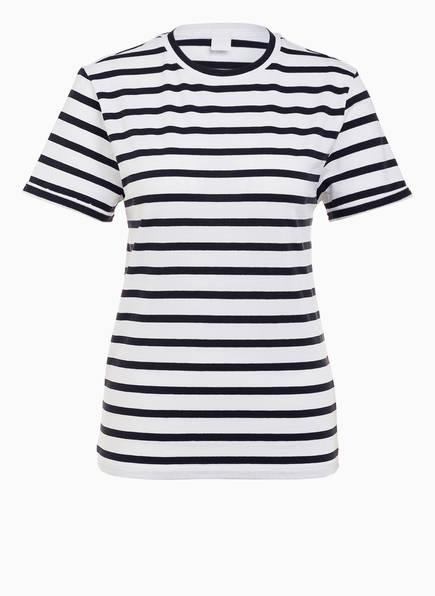 BOSS T-Shirt TESPRING, Farbe: DUNKELBLAU/ WEISS GESTREIFT (Bild 1)