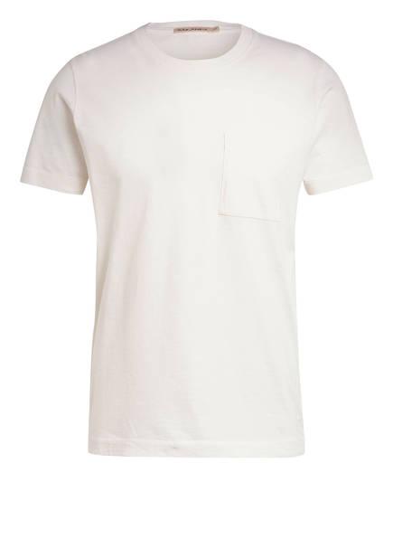 Nudie Jeans T-Shirt ROY, Farbe: W04 WHITE (Bild 1)