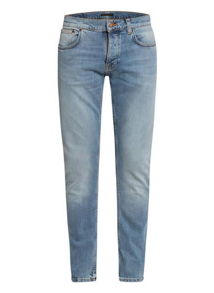 Nudie Jeans Jeans GRIM TIM Slim Fit , Farbe: CRISPY STONE HELLBLAU (Bild 1)