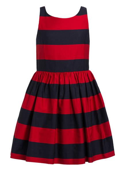 POLO RALPH LAUREN Kleid, Farbe: ROT/ DUNKELBLAU GESTREIFT (Bild 1)