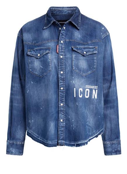 DSQUARED2 Jeans-Overshirt, Farbe: DUNKELBLAU (Bild 1)