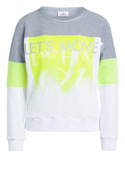DEHA Sweatshirt , Farbe: WEISS/ SILBER/ GELB (Bild 1)