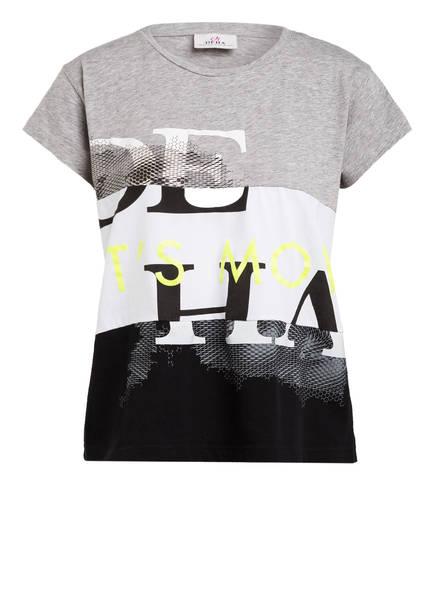 DEHA T-Shirt, Farbe: HELLGRAU/ WEISS/ SCHWARZ (Bild 1)