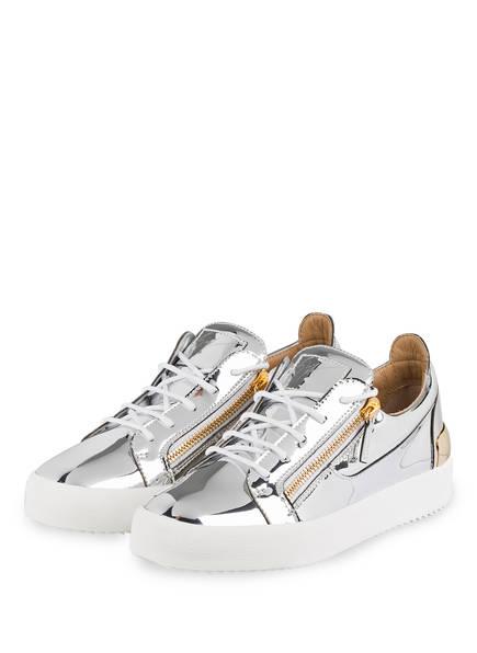 GIUSEPPE ZANOTTI DESIGN Sneaker FRANKIE, Farbe: SILBER/ WEISS/ GOLD (Bild 1)