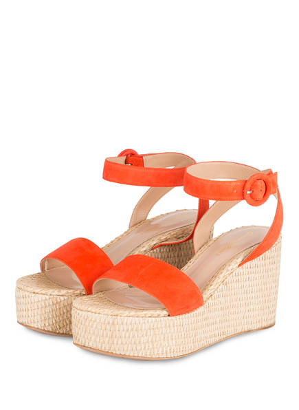 Gianvito Rossi Wedges, Farbe: ORANGE/ BEIGE (Bild 1)