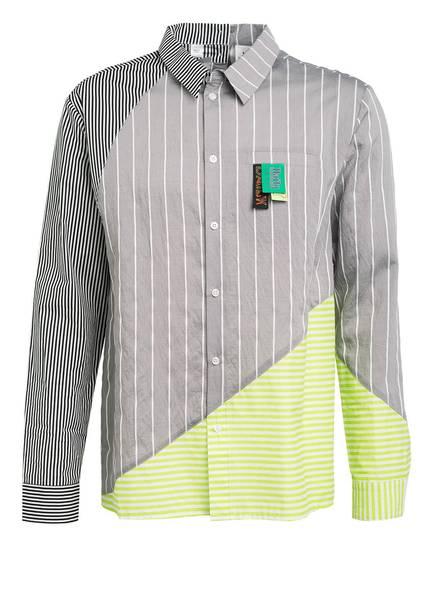 DAILY PAPER Hemd Comfort Fit, Farbe: GRAU/ GRÜN/ WEISS GESTREIFT (Bild 1)