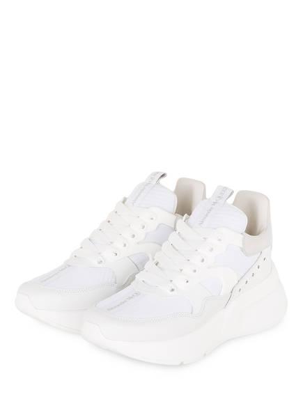 ALEXANDER McQUEEN Plateau-Sneaker , Farbe: WEISS/ BEIGE (Bild 1)