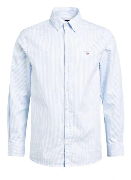 GANT Hemd , Farbe: WEISS/ HELLBLAU GESTREIFT (Bild 1)