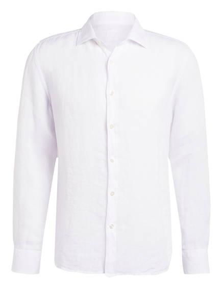 120%lino Leinenhemd Slim Fit , Farbe: WEISS (Bild 1)