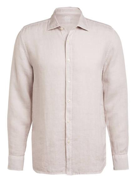 120%lino Leinenhemd Slim Fit, Farbe: CREME (Bild 1)
