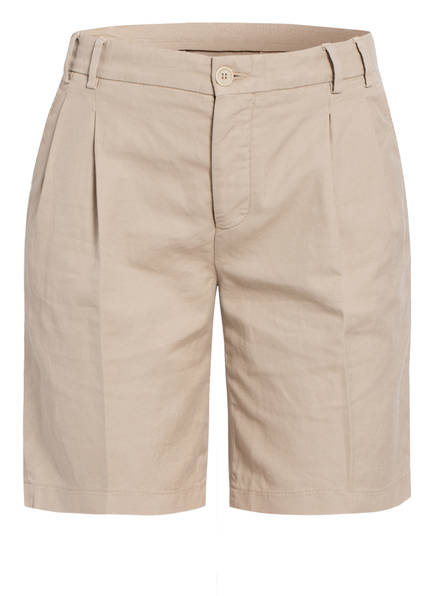 ASPESI Shorts mit Leinen, Farbe: BEIGE (Bild 1)