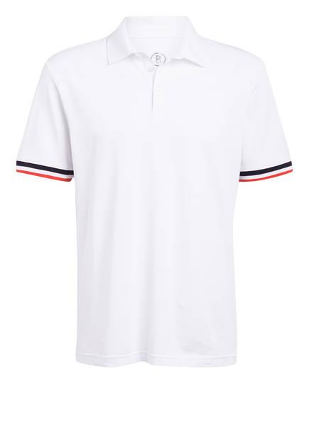 BOGNER Piqué-Poloshirt MIKO , Farbe: WEISS (Bild 1)