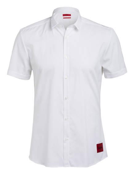 HUGO Halbarm-Hemd EMPSON Extra Slim Fit, Farbe: WEISS (Bild 1)