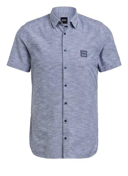 BOSS Halbarm-Hemd MAGNETON Slim Fit , Farbe: BLAUGRAU (Bild 1)