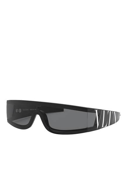 VALENTINO Sonnenbrille VA4054, Farbe: 500187 - SCHWARZ/ DUNKELGRAU (Bild 1)
