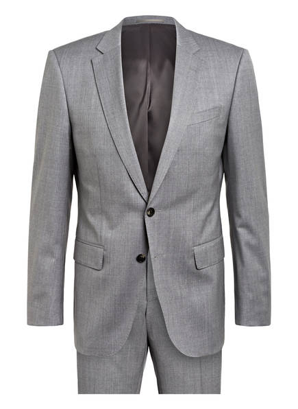 BOSS Anzug HUGO/GENIUS Slim Fit, Farbe: GRAU (Bild 1)