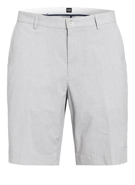 BOSS Chino-Shorts SLICE Regular Fit, Farbe: WEISS/ HELLGRAU GESTREIFT (Bild 1)