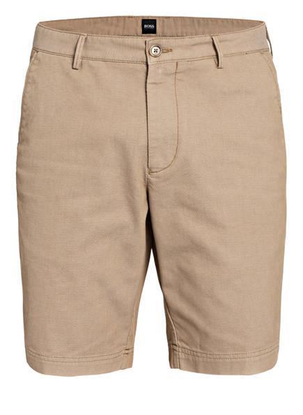 BOSS Chino-Shorts SLICE Regular Fit, Farbe: BEIGE (Bild 1)