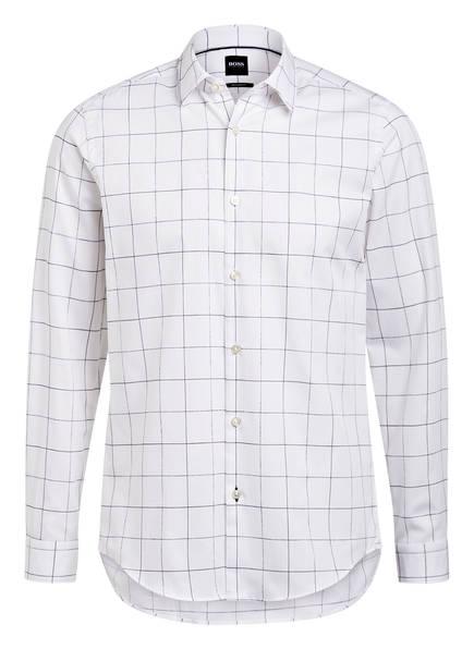 BOSS Hemd LUKAS Regular Fit, Farbe: WEISS/ BLAU (Bild 1)