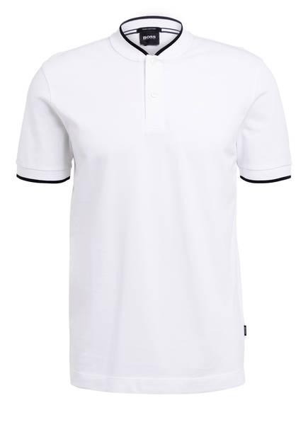BOSS Piqué-Poloshirt PRATT Regular Fit, Farbe: WEISS (Bild 1)