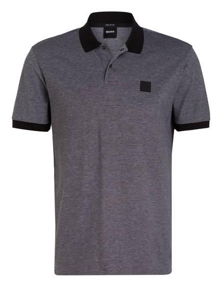 BOSS Piqué-Poloshirt PARLAY Regular Fit, Farbe: SCHWARZ (Bild 1)