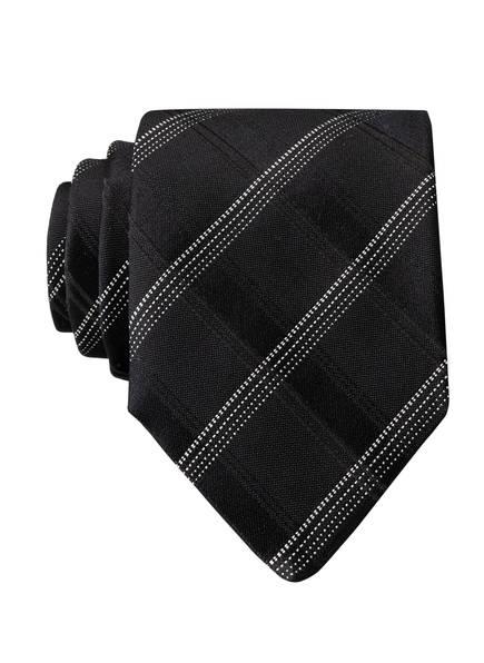 BOSS Krawatte, Farbe: SCHWARZ/ WEISS (Bild 1)