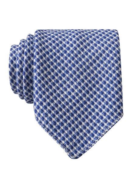 BOSS Krawatte, Farbe: BLAU/ WEISS (Bild 1)