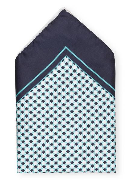 BOSS Einstecktuch, Farbe: DUNKELBLAU/ WEISS/ MINT (Bild 1)