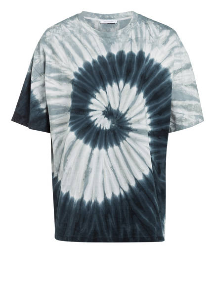 NINETY PERCENT T-Shirt, Farbe: PETROL/ GRAU/ WEISS (Bild 1)
