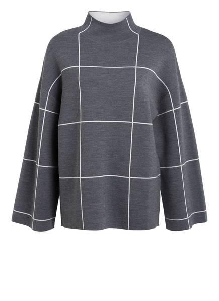 NINETY PERCENT Sweatshirt aus Bio-Merinowolle, Farbe: GRAU (Bild 1)