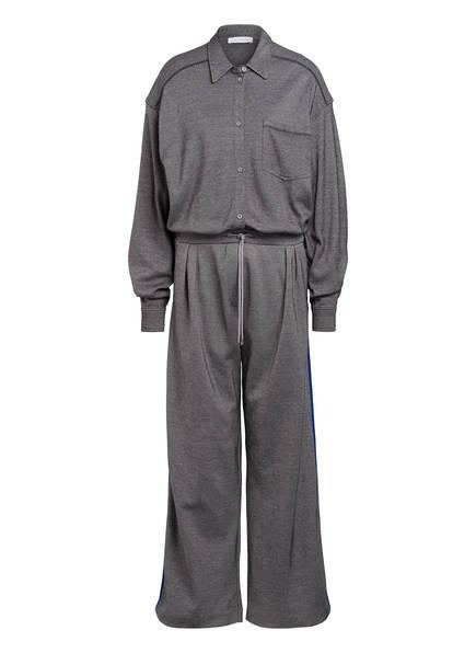 NINETY PERCENT Jumpsuit, Farbe: WEISS/ SCHWARZ (Bild 1)