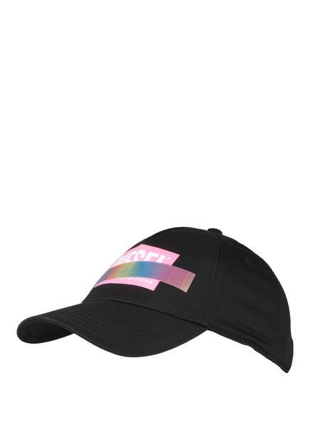 DIESEL Cap, Farbe: SCHWARZ/ PINK (Bild 1)